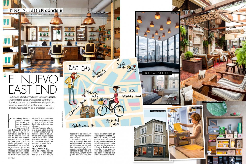 Telva magazine - October 2015