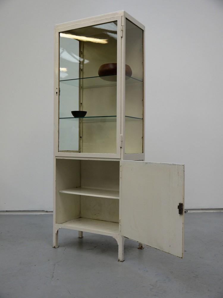 European – Small Vintage Medical Cabinet