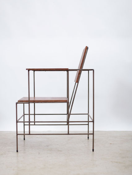 Modernist – Metal & Plywood Chair