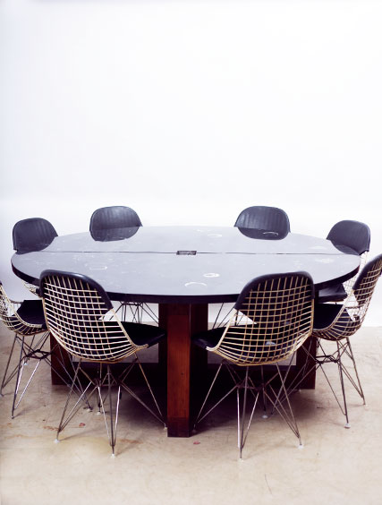 Architect Designed Table – 10 Eames Chairs