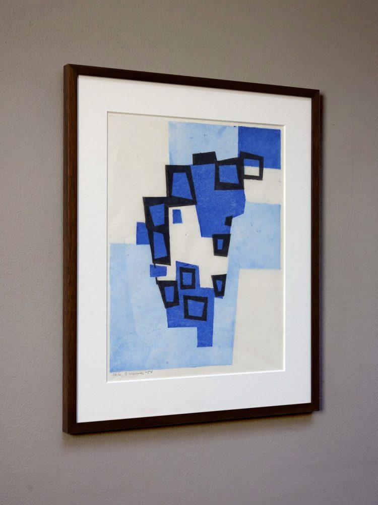 Gosta Werner – Composition in Blue