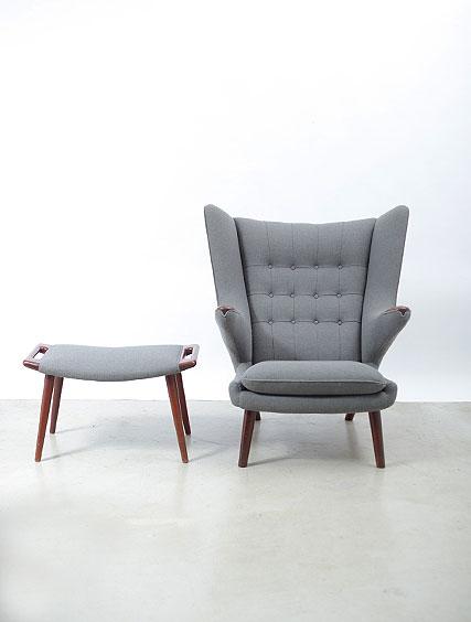 Hans Wegner – Papa Bear Chair & Ottoman