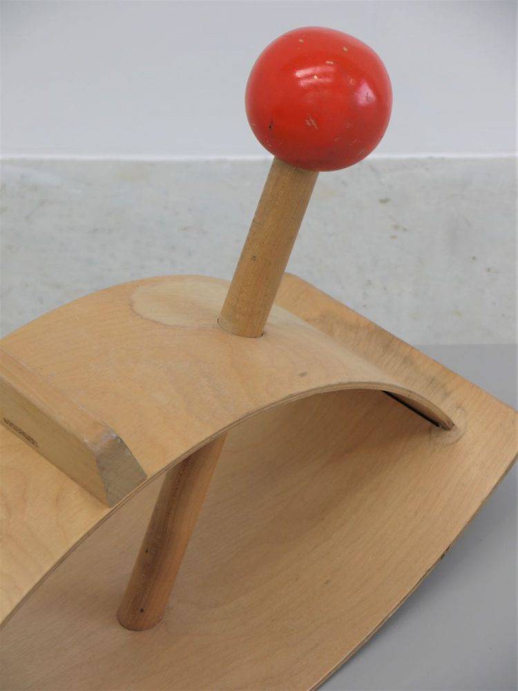 Gloria Caranica – Creative Playthings 'Red Ball' Rocker