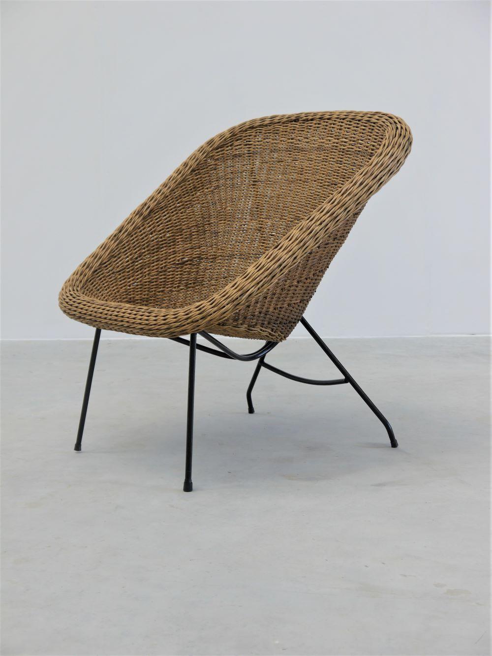 Carlo Hauner and Martin Eisler – Rare Concha Arm Chair