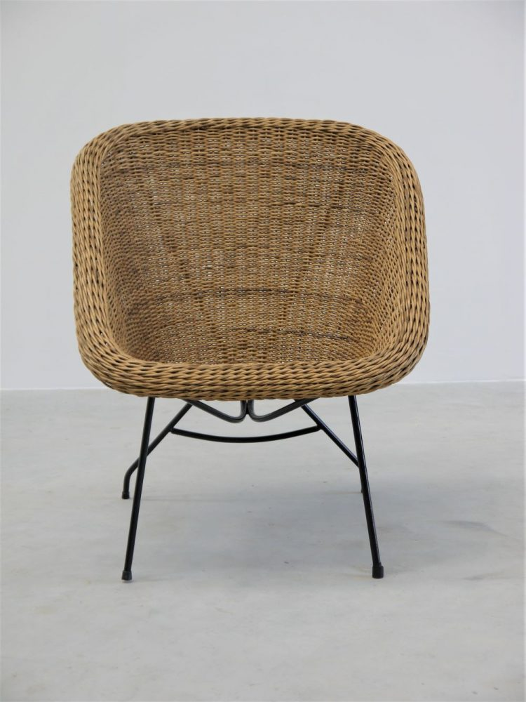 Carlo Hauner and Martin Eisler – Rare Concha Arm Chair