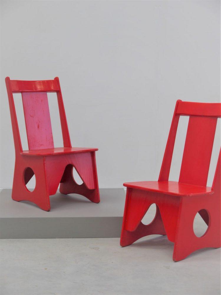 Scandinavian – Pair of Childrens Ply Chairs