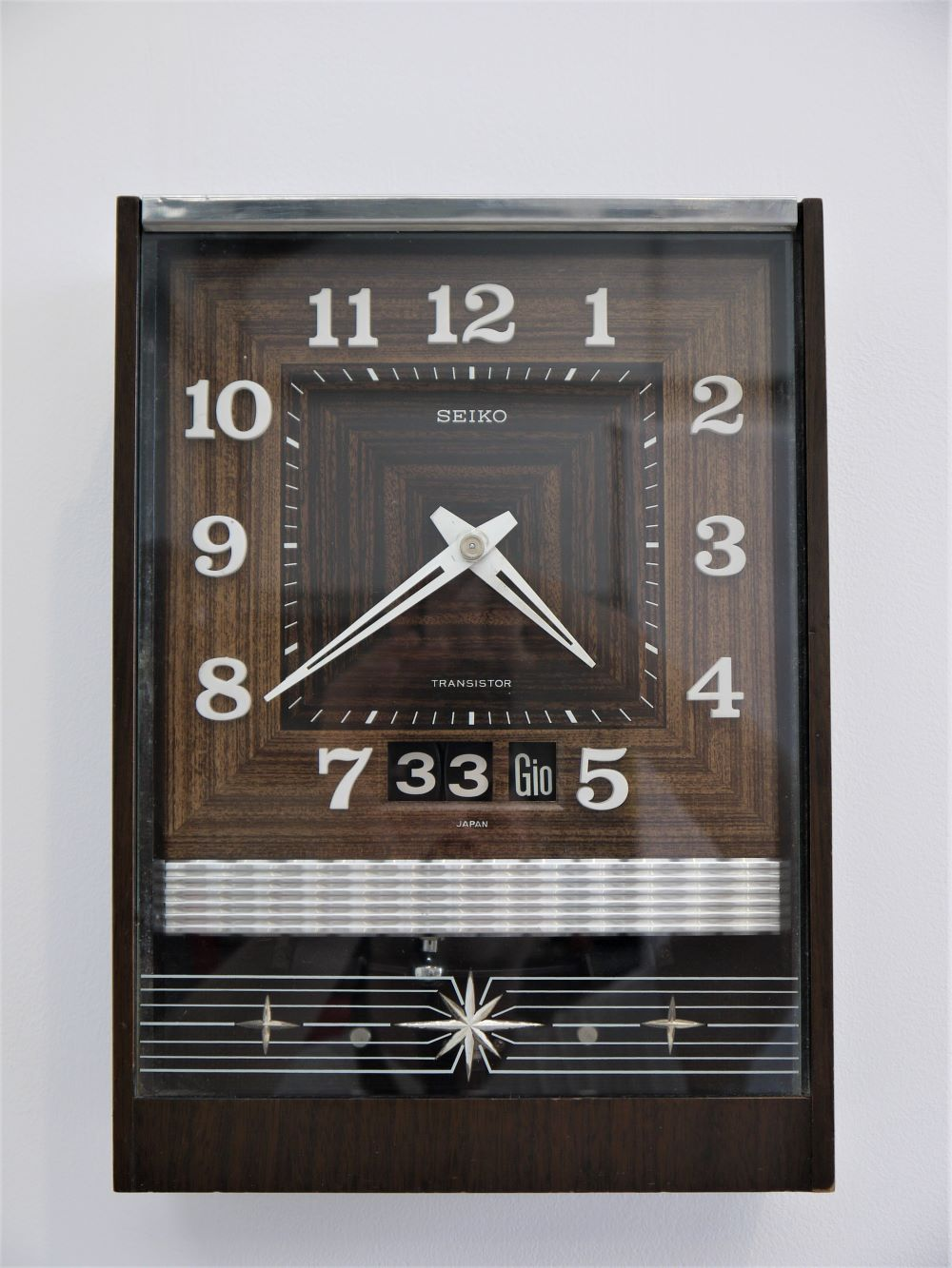 Seiko Japan – Transistor Wall Clock