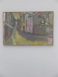 Eric Lounsbach – Original Oil Glasgow Street Scene