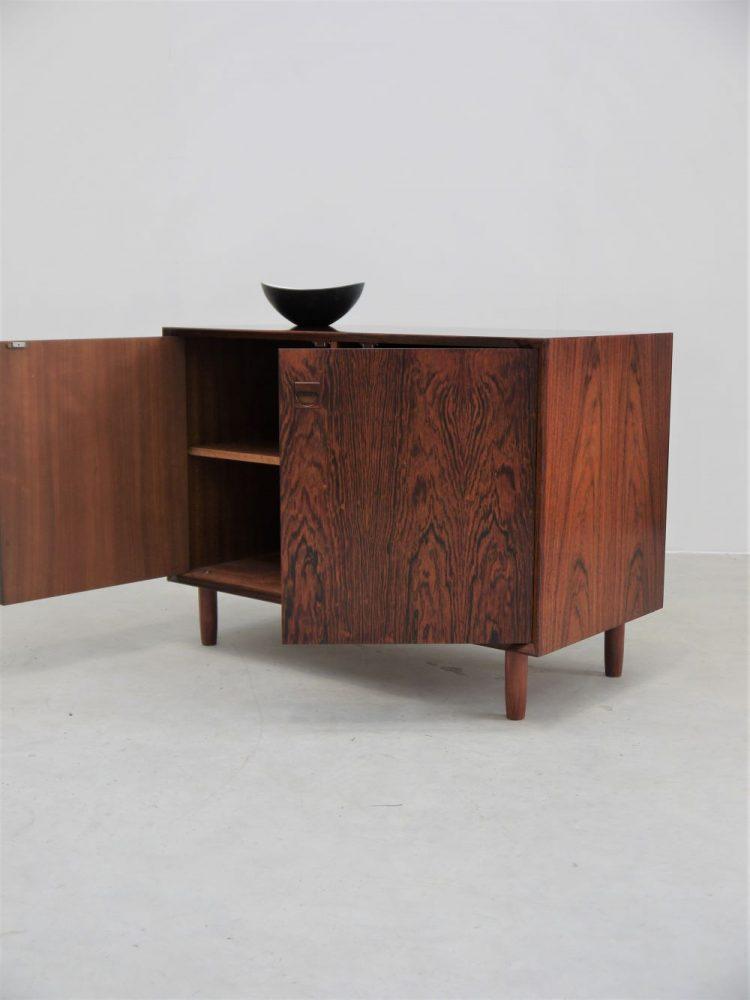 E Brouer – Two Door Rosewood Cabinet