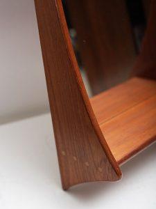 Teakwood – Mirror & Shelf