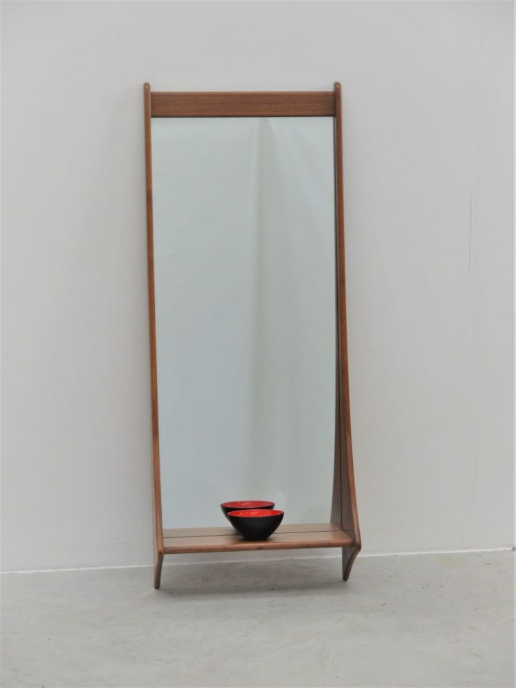 Pedersen and Hansen – Wall Mounted Mirror with Shelf