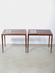 Rosewood Tables – Johannes Andersen for CFC Silkeborg