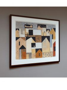 Ingvar Leton – Composition with Houses