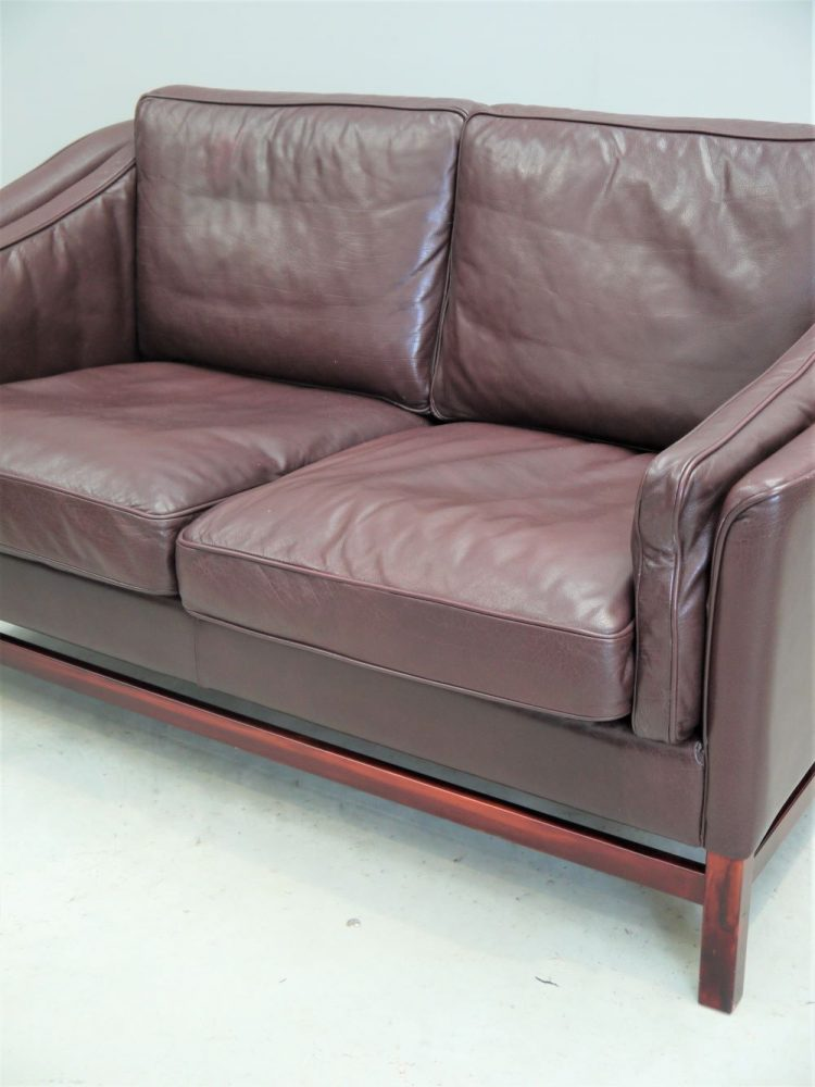 Stouby Denmark – Two Seat Leather Sofa