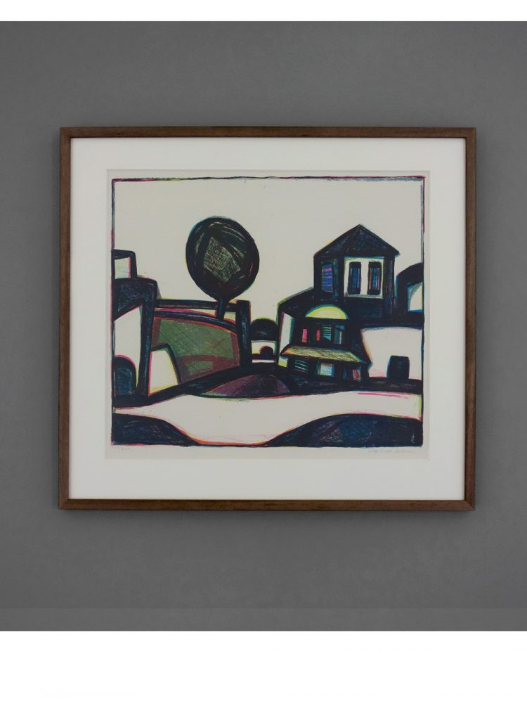 Max Gregor Carlsson – Landscape with Houses