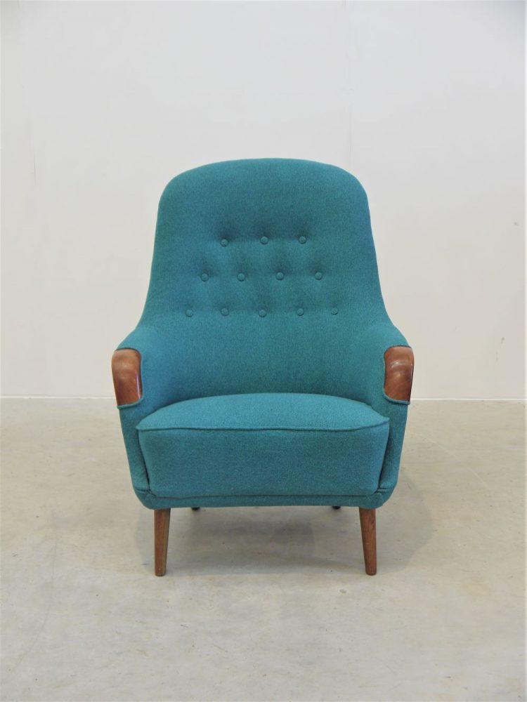 Danish – Club Chair with Teak Paws