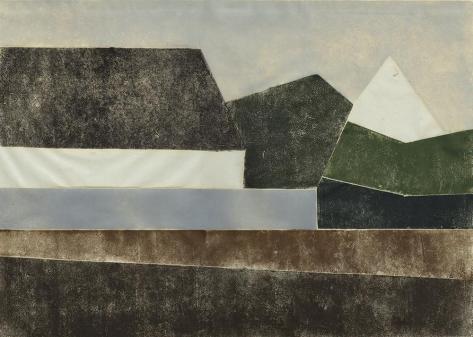 Bengt Orup – Untitled Composition (Houses)