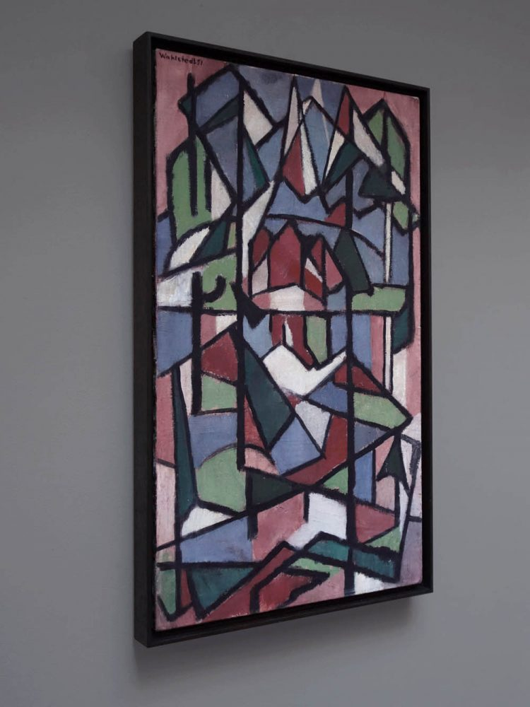 Johan Wahlstedt – Untitled Composition Oil on Canvas