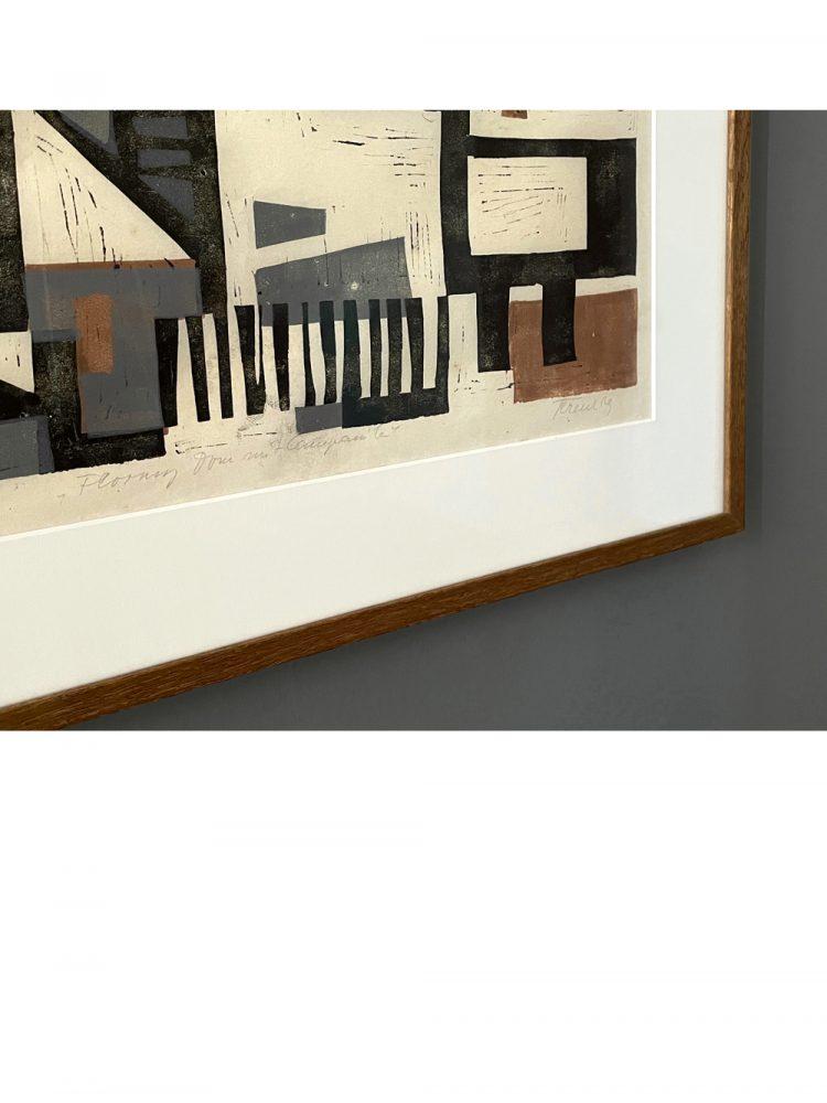 Albert Ferenz – Woodcut