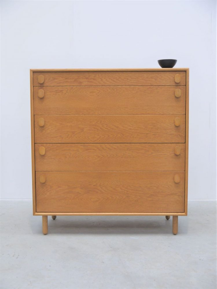 Meredew – Large Tall Five Drawer Oak Chest