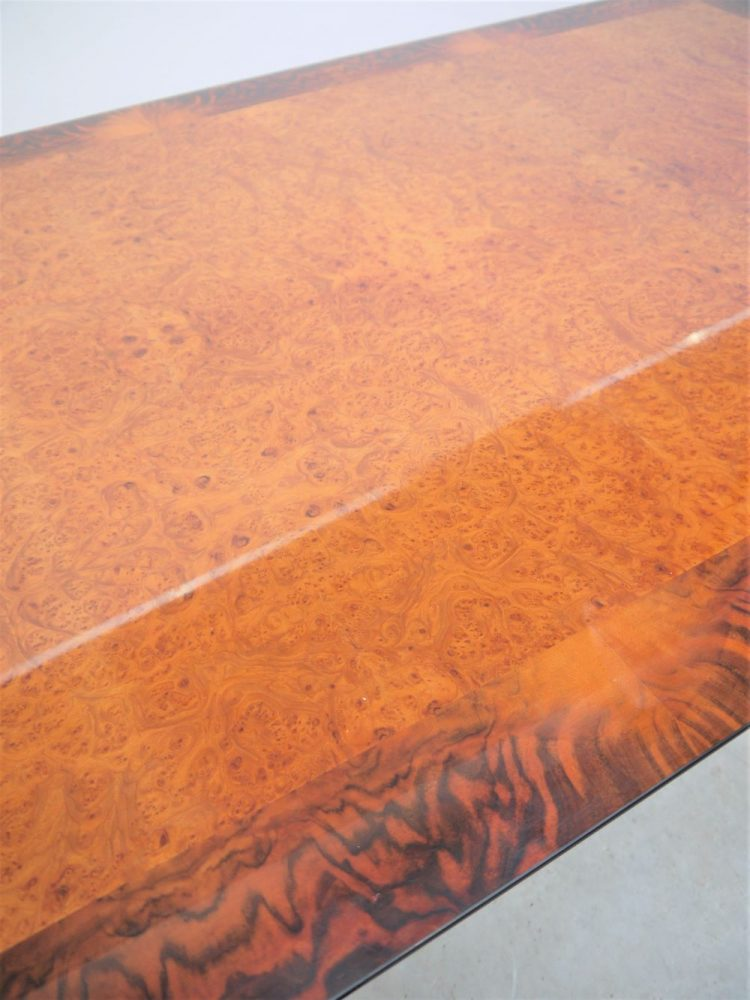 Paul Michel – Rare French Burl Dining Table