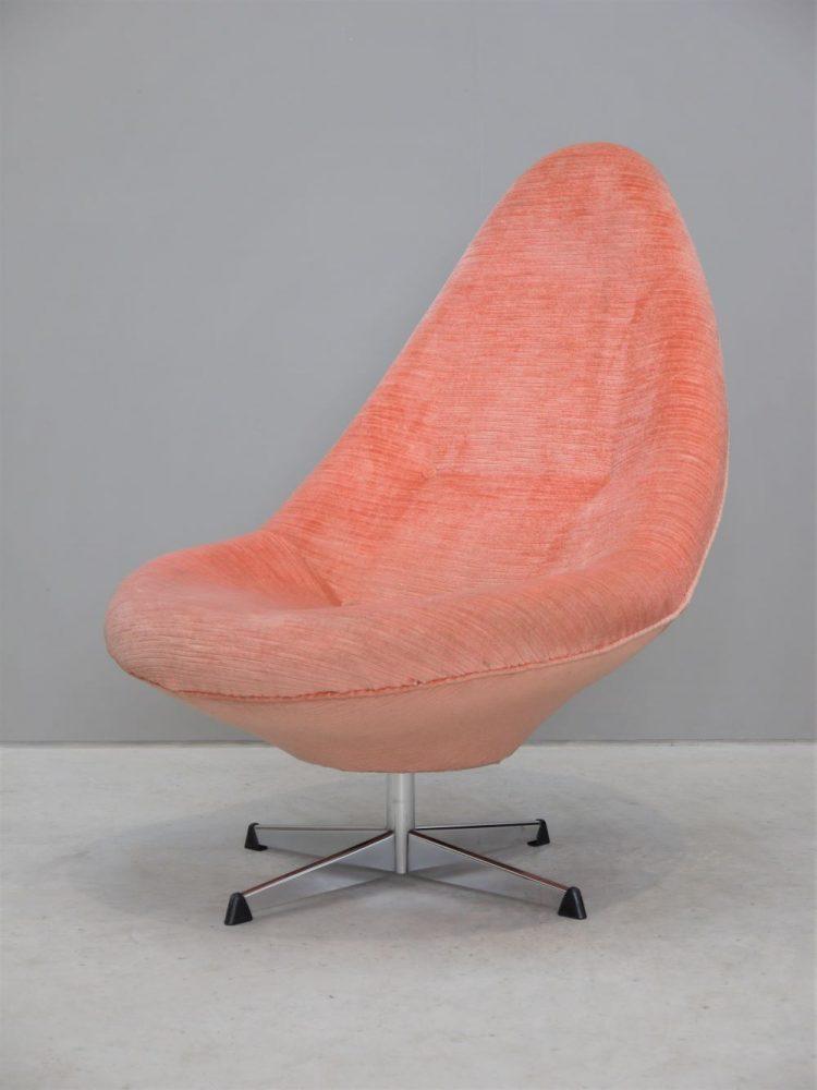 Arne Dahlen – Rare Swivel Highback Chair