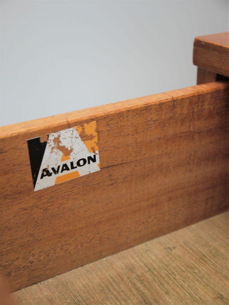 Avalon – Five Drawer Teak Chest of Drawers