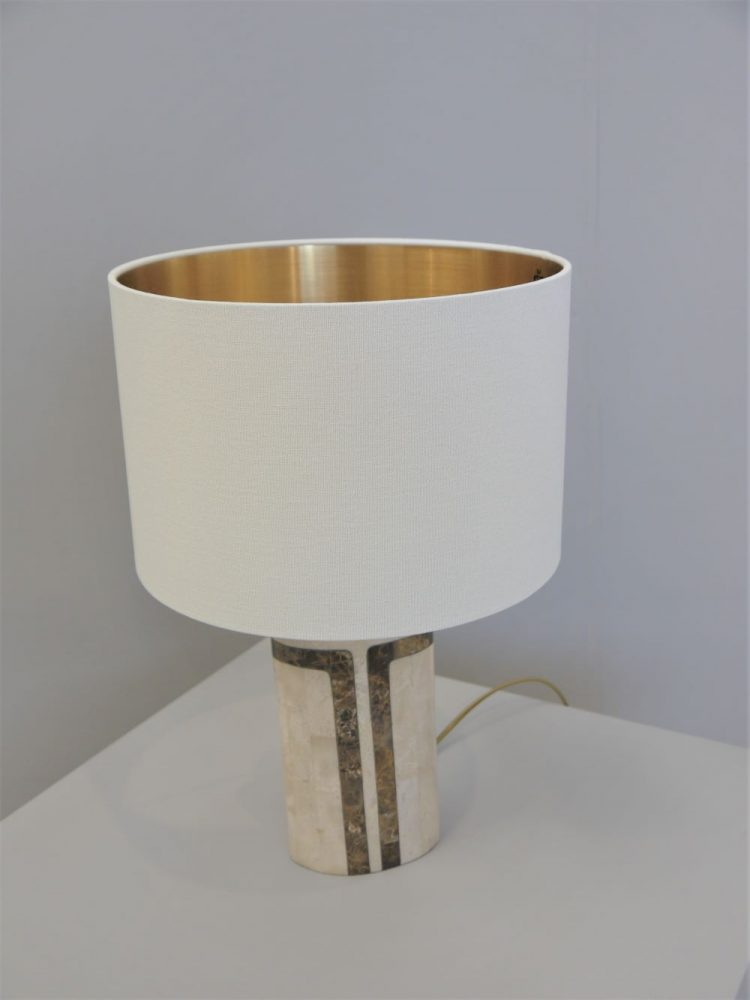 French – Marble Table / Desk Lamp
