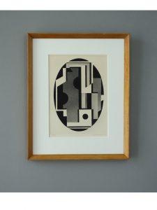 Curt Burstrom – Composition 10 Aquatint