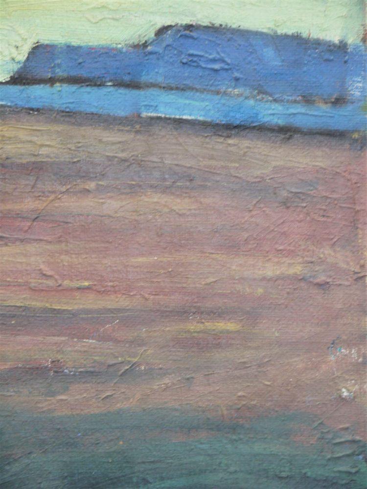 Danish – 1957 Oil on Board 'Landscape'