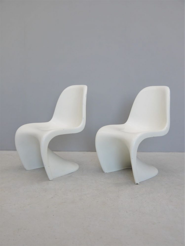 Verner Panton – Pair of S Chairs