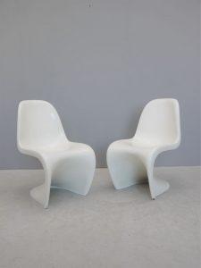 Verner Panton – Pair of S Chairs
