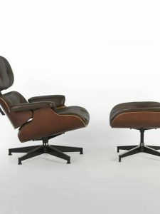 Charles and Ray Eames – Lounge Chair 670 and 671 Ottoman
