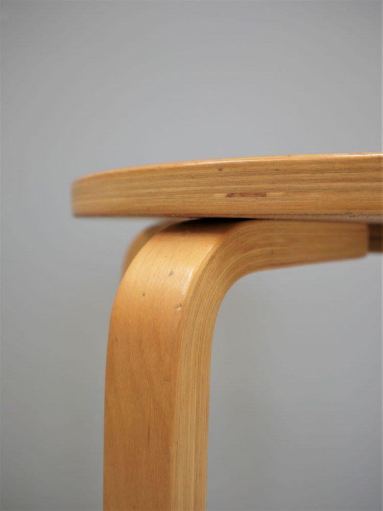Alvar Aalto – Model 64 Bent Wood Bar Stool