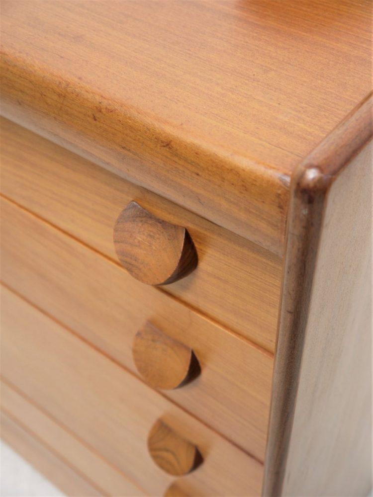 Teak Wood – Tall Drawer Unit