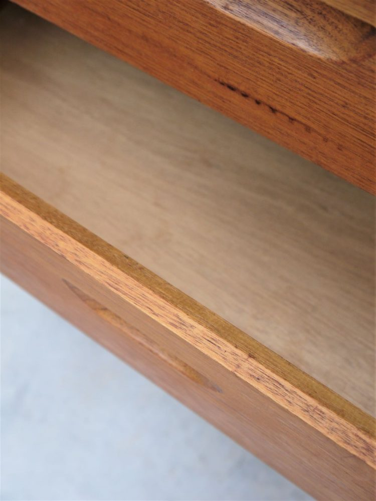 Aalto Style – Teak Four Drawer Chest