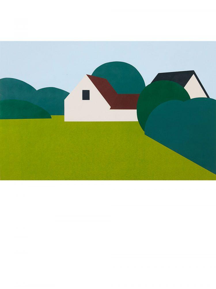 Bengt Orup – Landscape with House