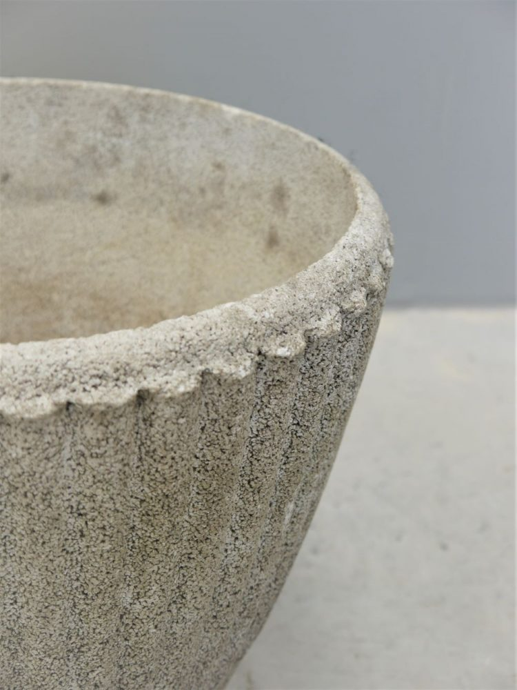 French – Concrete Mid-century Planter