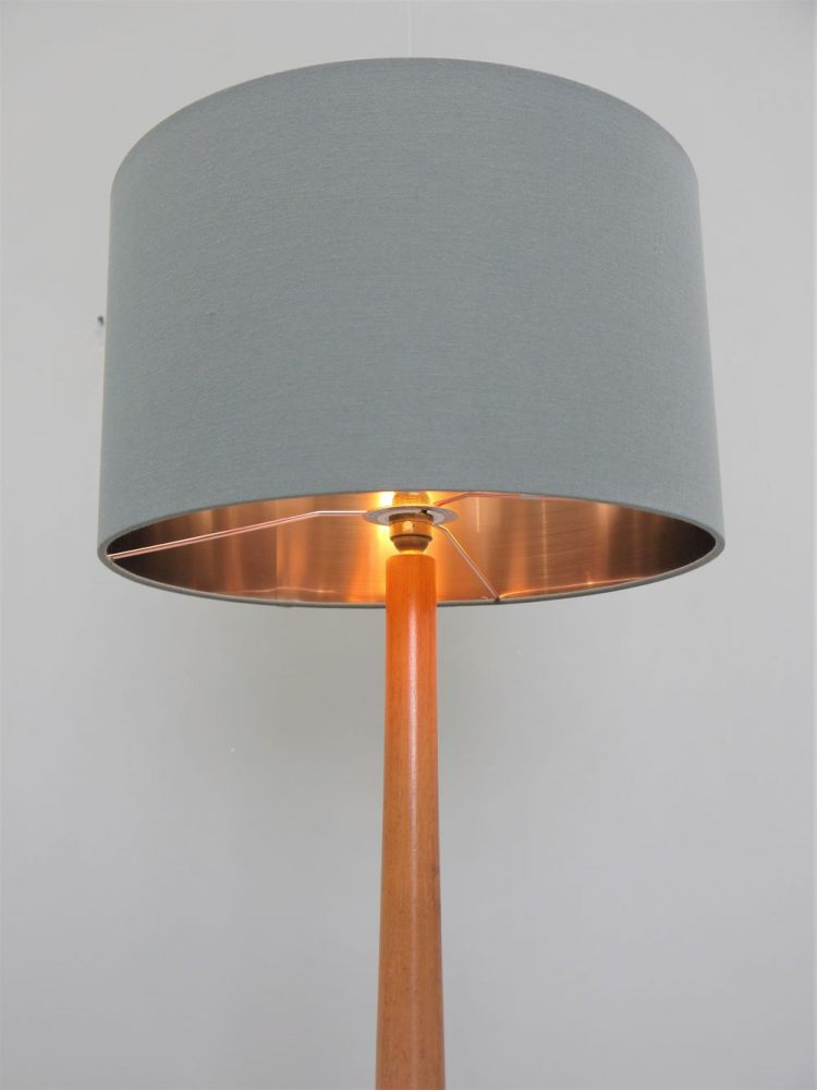 Teak –  Swedish Standard Floor Lamp
