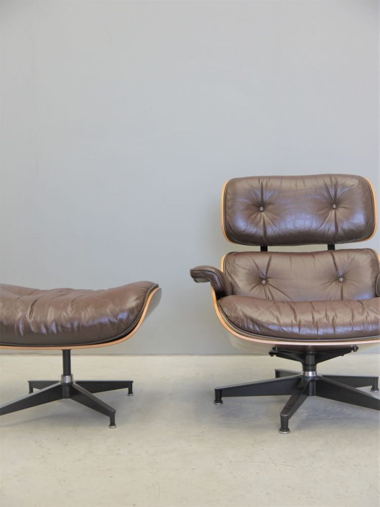 Charles and Ray Eames – 670 Lounge Chair and 671 Ottoman