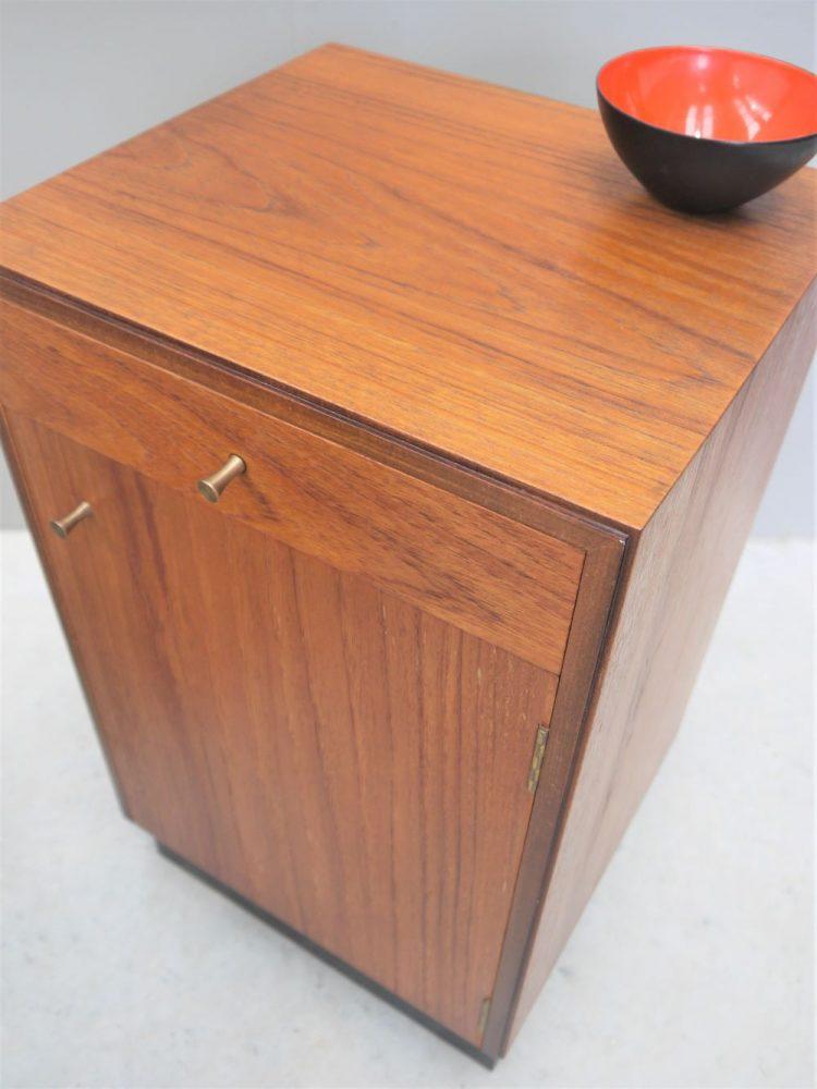 Heals London – Pair of Teak Bedside Cabinets