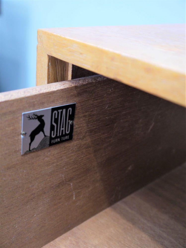 John and Sylvia Reid – Stag C Range Three Drawer Unit