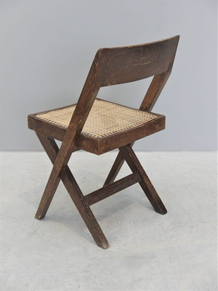 Pierre Jeanneret – Rare Library / Desk Chair for Chandigarh India