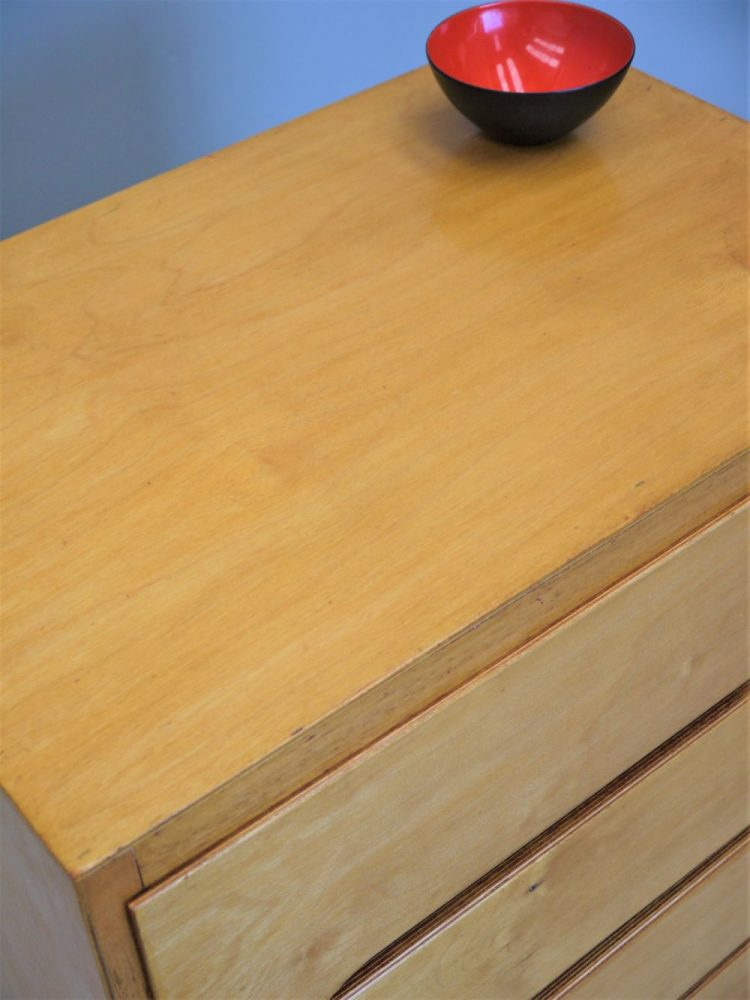 Liden – Aalto Style Birch Plywood Drawer Unit